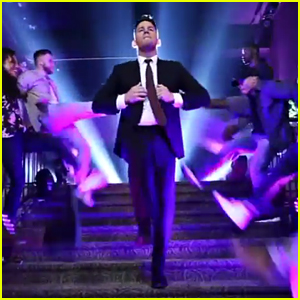 Channing Tatum Kicks Off 'Jimmy Kimmel Live' Guest Host Gig With Epic Dance Opening - Watch!