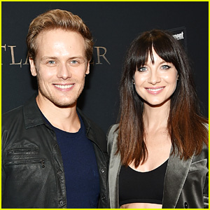 Sam Heughan & Caitriona Balfe React to X-Rated 'Outlander' Subtitle Mishap!