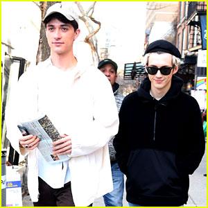 Troye Sivan & Boyfriend Jacob Bixenman Step Out in NYC