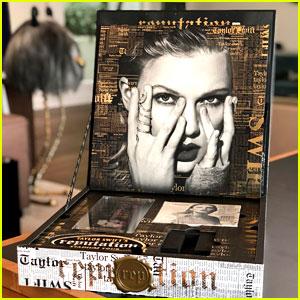 Look Inside Taylor Swift's V.I.P. Invite Boxes for 'reputation Stadium Tour'