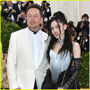 Elon Musk & Grimes Make Red Carpet Debut as a Couple at Met Gala 2018!