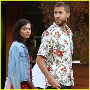 Calvin Harris & Girlfriend Aarika Wolf Celebrate 4th of July Together in Malibu!