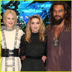 Jason Momoa, Nicole Kidman, & Amber Heard Debut 'Aquaman' Trailer at Comic-Con!