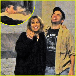 Robert Pattinson & Suki Waterhouse Kiss, Pack on PDA on London Date Night!