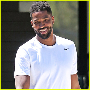 Tristan Thompson Spends the Afternoon House Hunting
