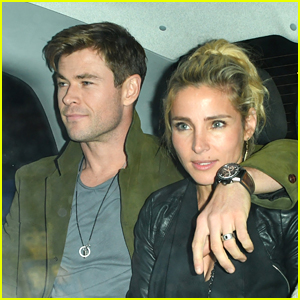 Chris Hemsworth & Elsa Pataky Step Out for Date Night in London!