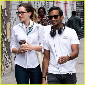 Aziz ansari and girlfriend