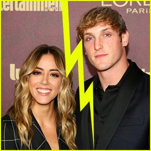Chloe Bennet & Logan Paul Split (Exclusive)