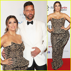 Eva Longoria Gets Support from Ricky Martin at Mexico City's Global Gift Gala!
