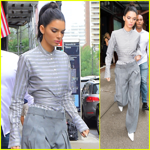 Kendall Jenner Attends Vogue's Forces of Fashion Conference in NYC