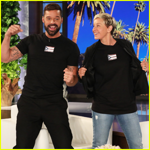 Ricky Martin Continues His Efforts To Help Rebuild Puerto Rico on 'Ellen' - Watch Here!