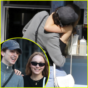 Timothee Chalamet & Lily-Rose Depp Pack on PDA in New Pics!