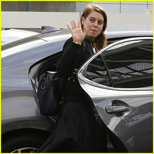 Princess Beatrice Takes an Uber After Flying Into LAX