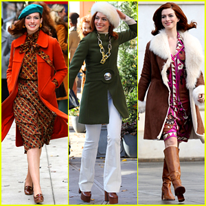 Anne Hathaway Wears Three Vintage Outfits for 'Modern Love'