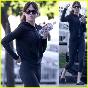 Dakota Johnson Heads to the Gym for a Workout in LA!