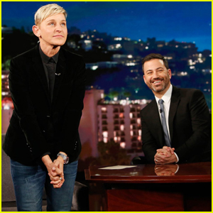 Ellen DeGeneres Tells 'Kimmel' Why She Decided to Return to Stand-Up After 15 Years!