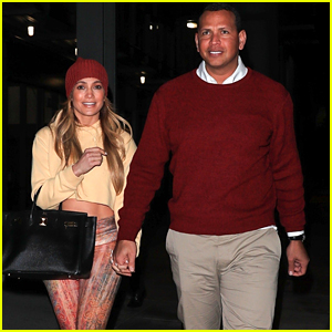 Jennifer Lopez & Alex Rodriguez Hold Hands on an Outing in Beverly Hills!