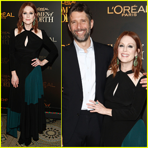 Julianne Moore is Joined by Husband Bart Freundlich at Women of Worth Celebration