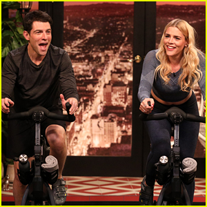 Max Greenfield Had a Lot of Fun When He Was a Spin Instructor
