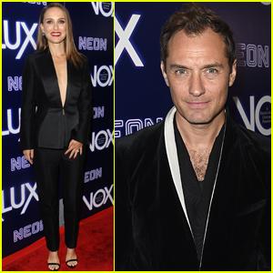 Natalie Portman & Jude Law Step Out for 'Vox Lux' Premiere!