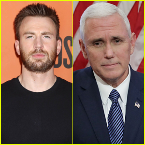 Chris Evans Slams Vice President Pence, Makes a Request of Journalists