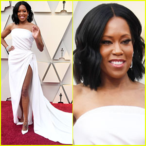 Regina King Shows Some Leg in Amazing Oscars 2019 Red Carpet Look!