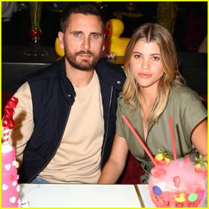 Scott Disick & Sofia Richie Celebrate Valentine's Day in San Diego