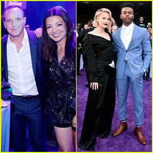 'Agents of SHIELD' & 'Cloak & Dagger' Stars Unite at 'Avengers: Endgame' Premiere!