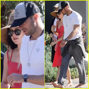 Dakota Johnson & Chris Martin Are Still Going Strong, Walk Barefoot in the Park Together!