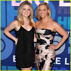 Reese Witherspoon's Mini-Me Daughter Ava Phillippe Joins Her for NYC Press Days!