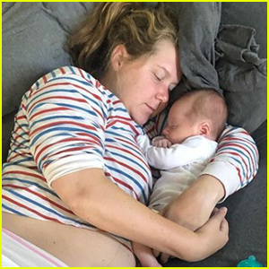 Amy Schumer Gets Real About Life With 5-Week Old Son Gene