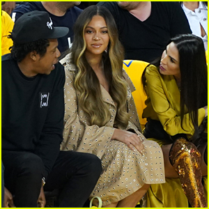 Beyonce's Reaction to Warriors Owner's Wife Leaning Over Her to Speak with Jay-Z Is Going Viral