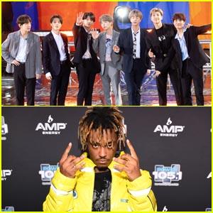 BTS Members RM & Suga Team Up With Juice WRLD on 'All Night' - Listen & Read the Lyrics & English Translation!