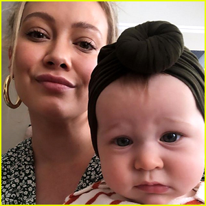 Hilary Duff Spends Night at Hospital with Daughter Banks
