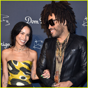 Lenny Kravitz Gets Emotional About Walking Daughter Zoe Down the Aisle