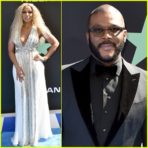 Mary J. Blige & Tyler Perry Arrive at BET Awards 2019