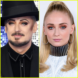Sophie Turner Responds to Boy George's Suggestion That She Should Play Him in His Biopic!