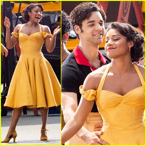Ariana DeBose & David Alvarez Hit the Streets for 'West Side Story' Dance Scene!