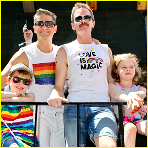 Neil Patrick Harris Attends World Pride Parade with His Family!