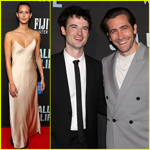 Jake Gyllenhaal's Girlfriend Jeanne Cadieu Supports Him at Broadway Opening!