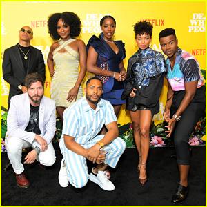Logan Browning & 'Dear White People' Cast Celebrate Season Three Premiere!