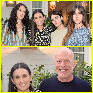 Demi Moore Had the Support of Her Kids & Ex Husband Bruce Willis at 'Inside Out' Book Party!