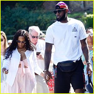 LeBron James & Wife Savannah Hold Hands on Italian Vacation