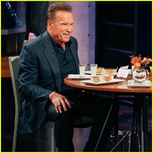 Arnold Schwarzenegger Eats Turkey Testicles to Avoid Ranking His Co-Stars on 'Spill Your Guts'!