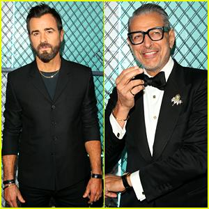 Justin Theroux & Jeff Goldblum Are Dapper Dudes at Tiffany Men's Launch