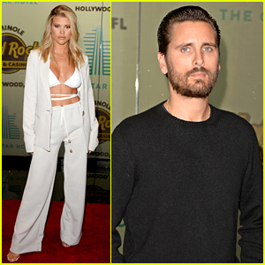 Scott Disick & Sofia Richie Join Lots of Celebs for Hotel Launch in Florida
