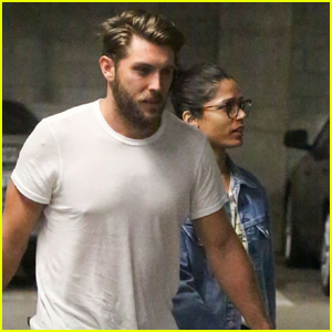 Freida Pinto & Fiance Cory Tran Head Out on Movie Date in Hollywood