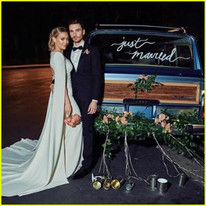 Hilary Duff & Matthew Koma Share First Photo From Their Wedding!