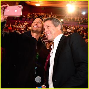 Matthew McConaughey & Hugh Grant Host Special 'The Gentlemen' Screening in London
