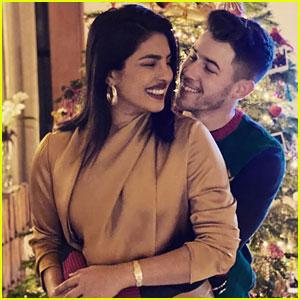 Nick Jonas & Priyanka Chopra Had a Very Merry Christmas This Year!